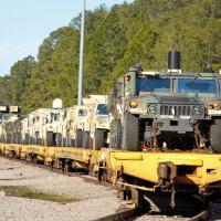 A Brigada Pantera, 3ª Brigade Combat Team, iniciou o deslocamento para o  Joint Readiness Training Center, Fort Polk, Lousiana. Foto 82ª Brigada Airborne