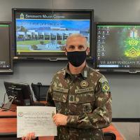Subtenente do EB é destaque como Instrutor do Semestre nos EUA