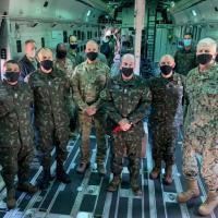 Comitiva acompanha exercício inédito do Exército Brasileiro nos EUA