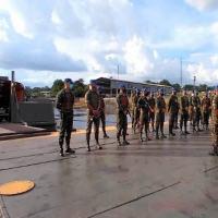 Exército se mobiliza para auxiliar transporte de material apreendido na Amazônia