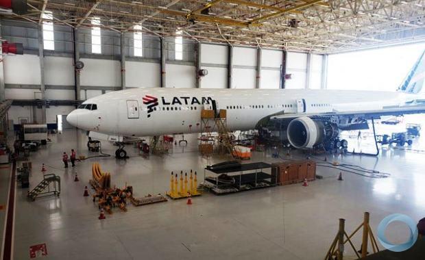 LATAM realiza no Brasil o seu primeiro Check Estrutural de um Boeing 777