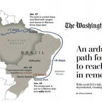 Com as UTIs lotadas e o alto consumo de Oxigênio o governo brasileiro inicia um esforço árduo para abastecer Manaus.