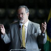 Raul Jungmann na cerimônia de despedida do cargo de ministro da Segurança Pública, em 2019 - Pedro Ladeira - 2.jan.2019/Folhapress
