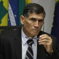 O ex-ministro da Secretaria de Governo Carlos Alberto Santos Cruz