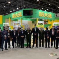 ABIMDE  participa da  abertura da Idex, em Abu Dhabi