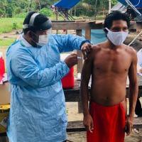 Forças Armadas viabilizam vacinação de aproximadamente 240 mil indígenas