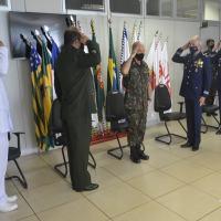 ComDCiber - Passagem de chefia do Estado-Maior Conjunto e do Departamento de Gestão Estratégica do ComDCiber