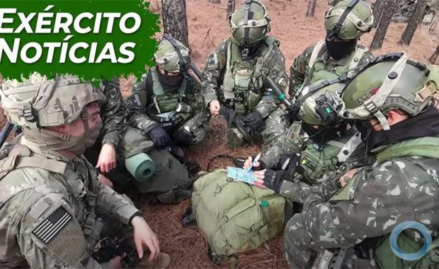 Operação Culminating - Video sobre Exercício inédito treina interoperabilidade entre exército do Brasil e EUA