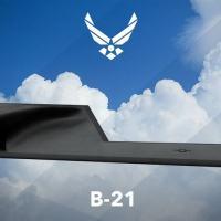 Futuro bombardeiro estratégico B-21