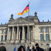 O prédio do Reichstag, em Berlim, onde fica o Parlamento alemão