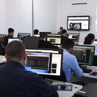 Exercício durante o Guardião Cibernético 2.0, realizado em 2019. Foto ComDCiber