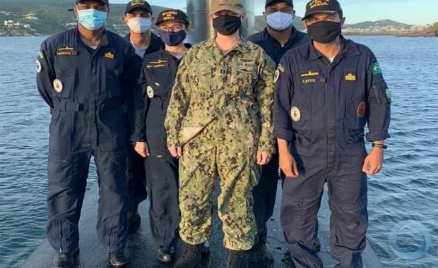 Marinha do Brasil trabalha Interoperabilidade com US Navy
