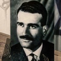 O espião israelense Eli Cohen em um selo postal em 2000