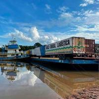 Embarcações apreendidas pela CPAOR por infringir a  Lei de Segurança do Tráfego Aquaviário