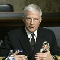 Navy Adm. Craig S. Faller, commander of U.S. Southern Command, testified before the Senate Armed Services Committee March 16, 2021, as part of the command's annual Posture Statement to Congress.