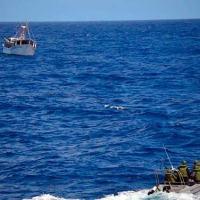 Militares da Marinha interceptam navio de bandeira venezuelana na costa brasileira