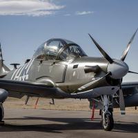 US Air Force Special Operations Command (AFSOC) mais recentes aeronaves de ataque leve A-29 mais perto da entrega final Foto - Sierra Nevada
