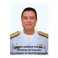 Comando da Marinha - Almirante-de-Esquadra Almir Garnier Santos