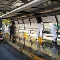 Equipe de Resposta Rápida de DefNBQR do GptFNRG realiza descontaminação
