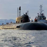 O gigante Belogorod K-319, com 184 metros de comprimento