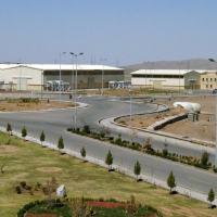 Imagem da usina nuclear de Natanz, ao sul de Teerã