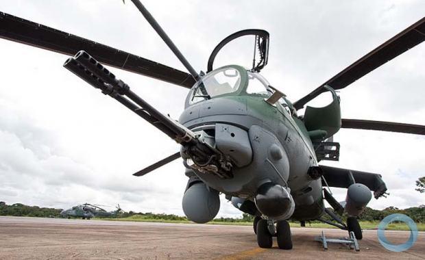 Mi-35 -  A holding Russian Helicopters está pronta para consertar helicópteros Mi-35M da Força Aérea Brasileira