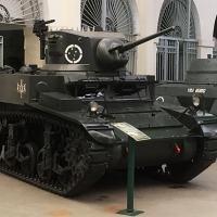 Excelente exemplar do M3 Stuart no Museu do Comando Militar do Sul, Porto Alegre, RS. Foto Jornal dos Clássicos