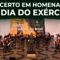 Concerto em homenagem ao Dia do Exército Brasileiro - Banda Sinfônica do Exército