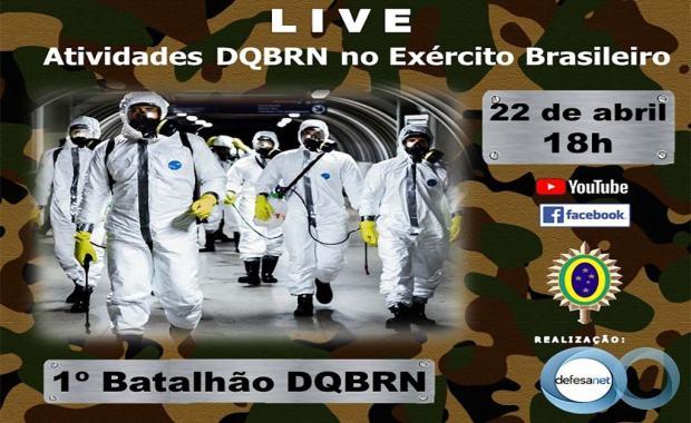 LIVE - As Atividades DQBRN no Exército Brasileiro