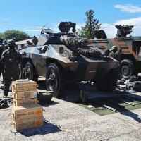 1ª Bda C Mec - Comandante Militar do Sul Realiza Verificação do Apronto Operacional da FORSUL/FORPRON
