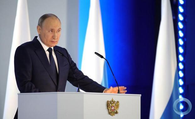 Discurso de Vladimir Putin apresentado na quarta-feira (21ABR2021)