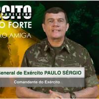 Mensagem do Comandante do Exército Gen Ex Paulo Sérgio