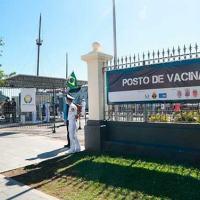 O posto de vacinação do ECM foi inaugurado na última sexta-feira (23)