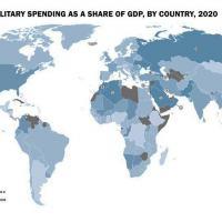 SIPRI - SIPRI - Gastos militares mundiais sobem para quase US $ 2 trilhões em 2020