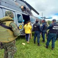"""Aeronave do Esquadrão HU-41 participa da Operação """"Verde Brasil II"""""""