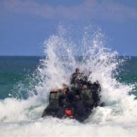 O exercício teve a participação de mais de 80 militares