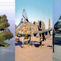 Acompanhe mais de 50 anos de esquemas de camuflagens adotados ou testados no A-10 Warhog