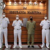Comando de Operações Navais recebe visita do Adido de Defesa do Paquistão