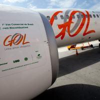 O Voo GOL 1408 - Congonhas - Brasília, 23 Outubro 2013, foi o primeiro voo realizado com biocombustível produzido a partir de uma mistura de ICO (óleo de milho não comestível) e OGR (óleo de cozinha reciclado).