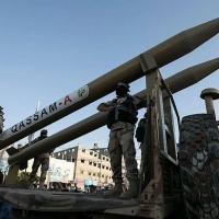 Hamas e outros grupos palestinos contam com uma variedade de mísseis