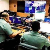 Militares do CISMAR guarnecem o Exercício T-RISE I/2021 com emprego do SMART Fenix no CCTRAM
