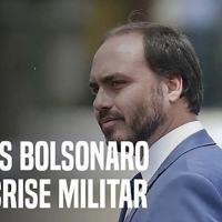 Carlos Bolsonaro intervém em compra de aparelho espião e cria crise militar