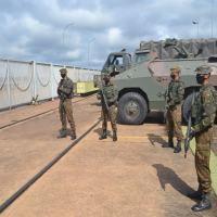 Brigada realiza adestramento em GLO