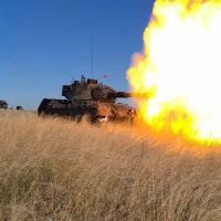 6º Regimento de Cavalaria realiza exercício de tiro de viaturas blindadas Leopard