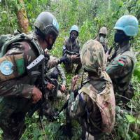Fotos: Equipe Móvel de Treinamento de Selva da MONUSCO