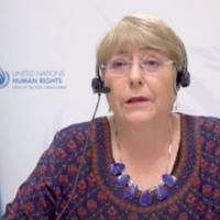 A alta comissária dos Direitos Humanos da ONU, Michelle Bachelet