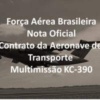 Comando da Aeronáutica emite Nota Oficial mencionando redução de aeronaves adquiridas e cadência de produção anual
