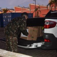 Militares mantêm ações de enfrentamento à Covid-19