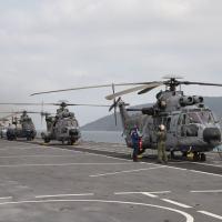 A Operação Poseidon surgiu da necessidade de aprimorar o emprego conjunto, visando a capacitação de pilotos de helicópteros das três Forças