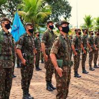 A 23ª Brigada de Infantaria de Selva realiza solenidade comemorativa ao 45º aniversário de sua criação